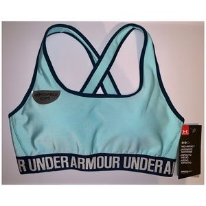 Under Armour | UA Mid Impact Crossback Bra NWT
